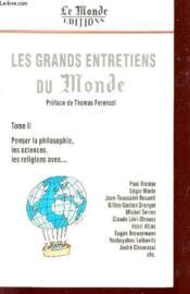 Grands Entretiens Du Monde T.2 - Couverture - Format classique