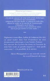 Les Cyclades - 4ème de couverture - Format classique