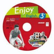Vente livre :  ENJOY ENGLISH IN ; 3ème ; pack de 10 CD audio-rom de remplacement  - Odile Martin-Cocher