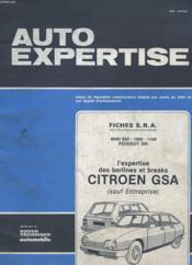 Auto Expertise N° 101 - Mai Juin 1983 - Fiches S.R.A. - Mini 850 / 1000 / 1100 Peugeot 305 - L4expertise Des Berlines Et Breaks Citroen Gsa - Couverture - Format classique