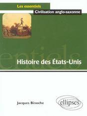 Histoire Des Etats-Unis - Intérieur - Format classique