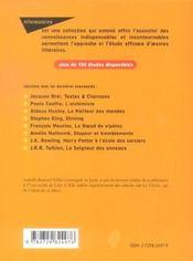 Le chercheur d'or de J.M.G. Le Clézio (2e édition) - 4ème de couverture - Format classique