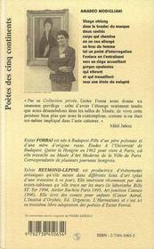 Magangyujtemeny, Collection Privee - 4ème de couverture - Format classique