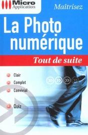 La photo numerique tout de suite - Intérieur - Format classique