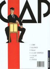 Capricorne t.5 ; le secret - 4ème de couverture - Format classique