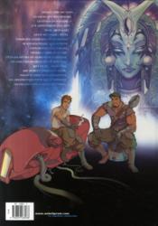 Les terres de Caël t.1 ; la déesse endormie - 4ème de couverture - Format classique
