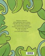 Coucou ! dit l'autruche - 4ème de couverture - Format classique