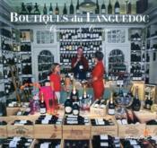 Boutiques du Languedoc - Couverture - Format classique