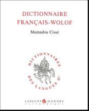 Dictionnaire français-wolof (2e édition) - Couverture - Format classique
