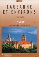 Lausanne Et Environs - Couverture - Format classique
