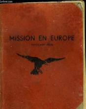 Mission En Europe - Couverture - Format classique