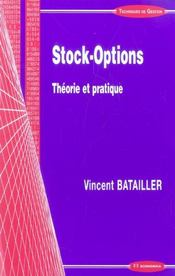 Vente livre :  Stock-Options  - Vincent Batailler