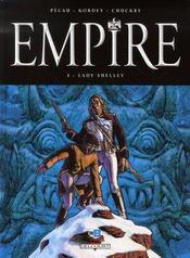 Empire t.2 ; Lady Shelley - Intérieur - Format classique