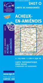 Acheux-en-Amiénois - Couverture - Format classique