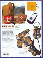 Patchworks utiles - 4ème de couverture - Format classique