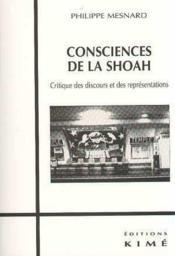 Consciences De La Shoah - Couverture - Format classique