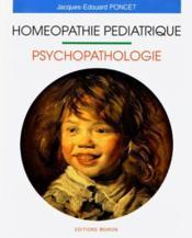 Homeopathie Pediatrique - Couverture - Format classique
