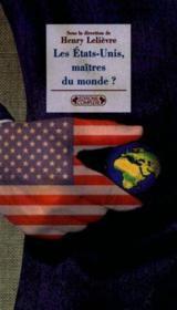 Etats unis maitres du monde (les) - Couverture - Format classique