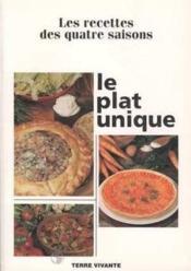 Plat Unique (Le) - Couverture - Format classique