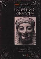 La sagesse grecque t.1 ; Dionysos, Apollon, Eleusis, Orphée, Musée, Hyperboréens, Enigme - Couverture - Format classique