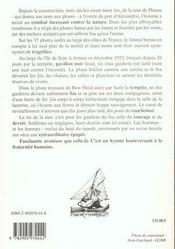 Feux De Mer - 4ème de couverture - Format classique