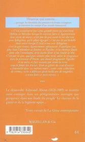 Le Péloponèse - 4ème de couverture - Format classique