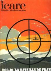 Icare N°55 - 1939-40 / La Bataille De France - Volume Ii: La Chasse - Couverture - Format classique