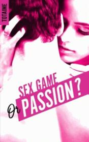 Vente  Sex game or passion ?  - Collectif