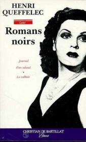 Romans Noirs - Couverture - Format classique