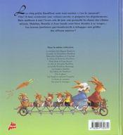 Carnaval chez les passiflore - 4ème de couverture - Format classique