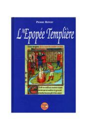 L'Epopee Templiere - Couverture - Format classique