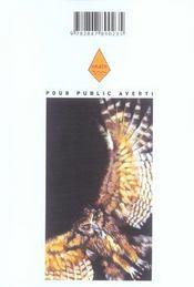 Coq de combat t.6 - 4ème de couverture - Format classique