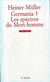 Germania 3: les spectres du mort-homme - Couverture - Format classique