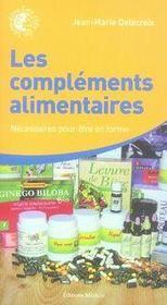 Les compléments alimentaires - Intérieur - Format classique