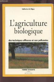 L'agriculture biologique - Couverture - Format classique