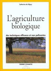 L'agriculture biologique - Intérieur - Format classique