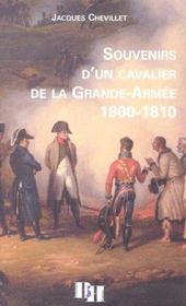 En Suivant Un Cavalier De La Grande Armee ; Memoires - Intérieur - Format classique