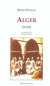 Alger étude - Couverture - Format classique