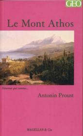 Le Mont Athos - Couverture - Format classique