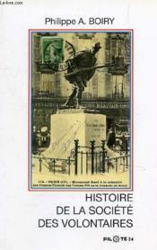 Histoire de la societe des volontaires - Couverture - Format classique