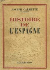 Histoire De L'Espagne. - Couverture - Format classique