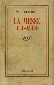 La Messe La-Bas. - Couverture - Format classique