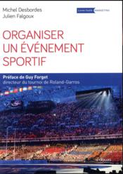 Organiser Un Evenement Sportif - Couverture - Format classique