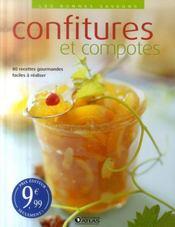 Confitures et compotes - Intérieur - Format classique
