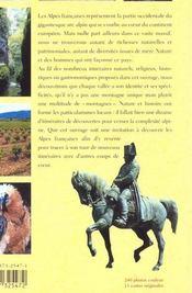 Les Alpes Francaises - 4ème de couverture - Format classique