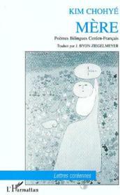 Mere Poemes Bilingues Coreen-Francais - Couverture - Format classique