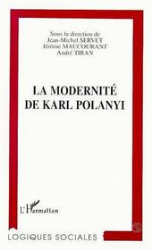 La Modernite De Karl Polanyi - Intérieur - Format classique