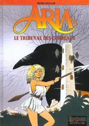 Aria t.7 ; le tribunal des corbeaux - Intérieur - Format classique