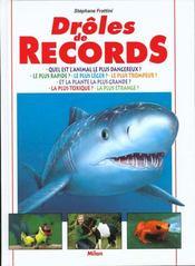 Des droles de records - Intérieur - Format classique