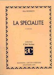 La specialite - Intérieur - Format classique